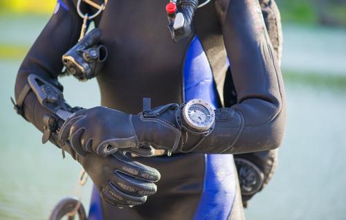 Sportlich und funktional - die Taucheruhr