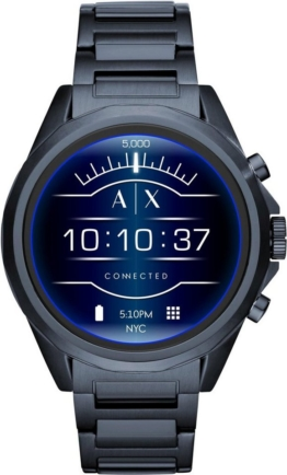 Armani Exchange Connected AXT2003 Smartwatch (1.4 Zoll, Wear OS by Google)