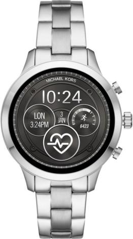 MICHAEL KORS ACCESS RUNWAY, MKT5044 Smartwatch (Wear OS by Google, inkl. Dornschließe für Wechselband)