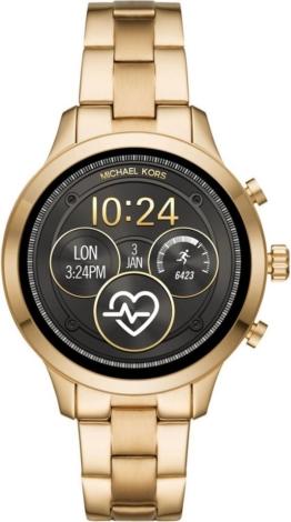MICHAEL KORS ACCESS RUNWAY, MKT5045 Smartwatch (Wear OS by Google, inkl. Dornschließe für Wechselband)