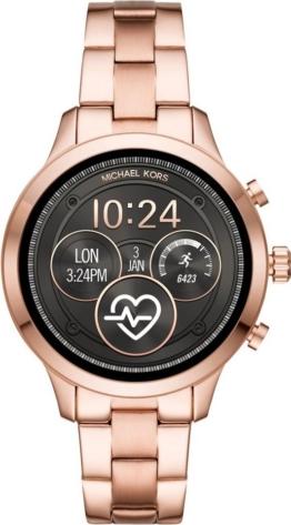 MICHAEL KORS ACCESS RUNWAY, MKT5046 Smartwatch (Wear OS by Google, inkl. Dornschließe für Wechselband)
