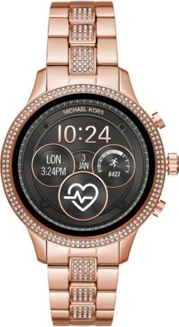 MICHAEL KORS ACCESS RUNWAY, MKT5052 Smartwatch (Wear OS by Google, inkl. Dornschließe für Wechselband)