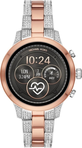 MICHAEL KORS ACCESS RUNWAY, MKT5056 Smartwatch (1.19 Zoll, Wear OS by Google)