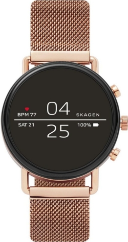SKAGEN CONNECTED FALSTER, SKT5103 Smartwatch (1,19 Zoll, Wear OS by Google, mit individuell einstellbarem Zifferblatt)