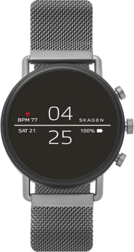 SKAGEN CONNECTED FALSTER, SKT5105 Smartwatch (1,19 Zoll, Wear OS by Google, mit individuell einstellbarem Zifferblatt)