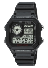 Casio Collection Chronograph »AE-1200WH-1AVEF«