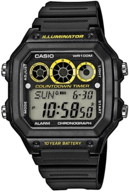 Casio Collection Chronograph »AE-1300WH-1AVEF«