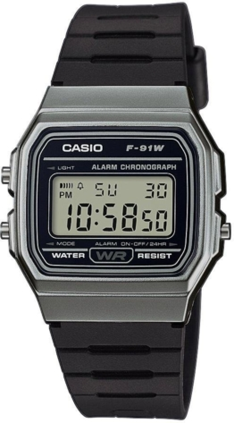 Casio Collection Chronograph »F-91WM-1BEF«
