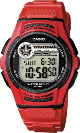 Casio Collection Multifunktionsuhr »W-213-4AVES«