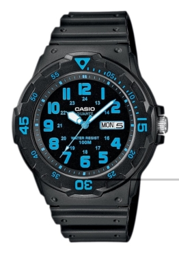 Casio Collection Quarzuhr »MRW-200H-2BVEF«