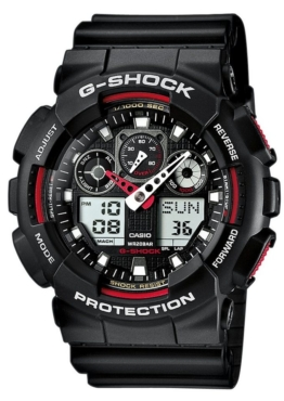 CASIO G-SHOCK Chronograph »GA-100-1A4ER«