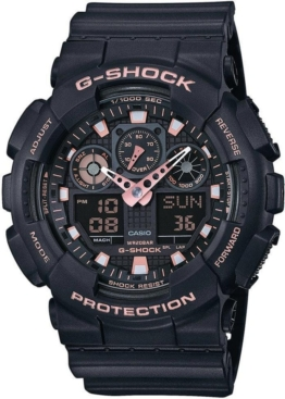 CASIO G-SHOCK Chronograph »GA-100GBX-1A4ER« antimagnetisch