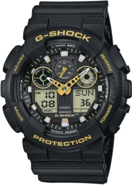 CASIO G-SHOCK Chronograph »GA-100GBX-1A9ER« antimagnetisch