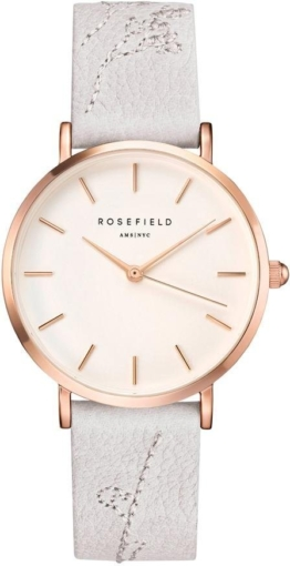 ROSEFIELD Quarzuhr »City Bloom Lily White Rose Gold, CILIR-E93«