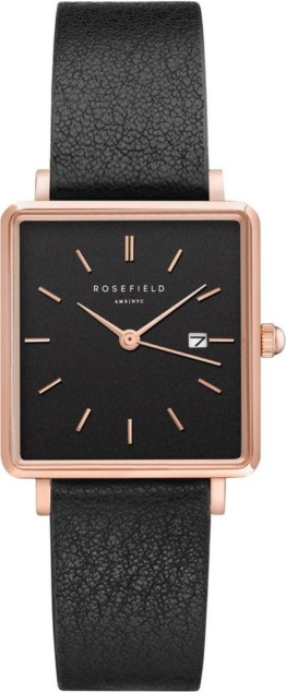 ROSEFIELD Quarzuhr »The Boxy, QBBR-Q10«