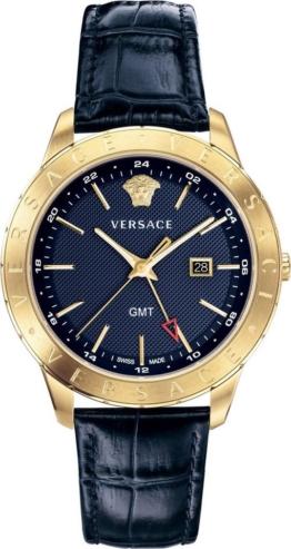 Versace Schweizer Uhr »Univers, VEBK00318« mit GMT