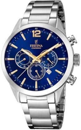 Festina Chronograph »Timeless Chronograph, F20343/2« mit dezentraler Sekunde