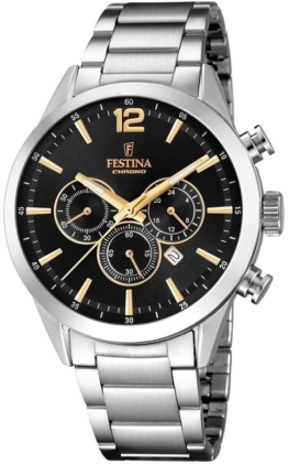 Festina Chronograph »Timeless Chronograph, F20343/4« mit dezentraler Sekunde
