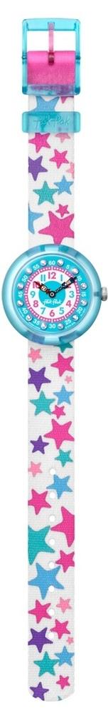 Flik Flak Fbnp081 Mädchen-Uhr Tähtila Quarz Textil Armband Ø 31,85 mm