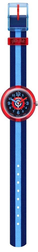 Flik Flak Fpnp040 Jungen-Uhr Twoblue Quarz Textil Armband Ø 31,85 mm