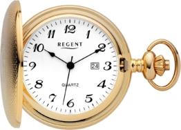 Regent Taschenuhr »11370102« (Set, 2 tlg., inkl. Kette)