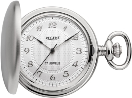 Regent Taschenuhr »P14« (Set, 2 tlg) inkl. Kette