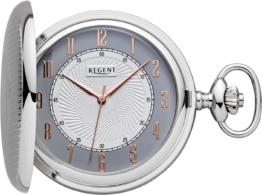 Regent Taschenuhr »P605« (Set, 2 tlg., inkl. Kette)
