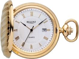 Regent Taschenuhr »P611« (Set, 2 tlg., inkl. Kette)