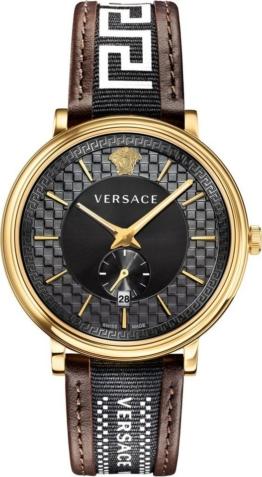 Versace Schweizer Uhr »V-CIRCLE/ GRECA EDITION, VEBQ01619«