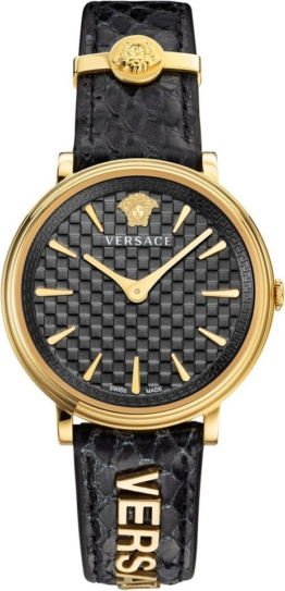 Versace Schweizer Uhr »V-CIRCLE/ LOGOMANIA EDITION, VE8101019«