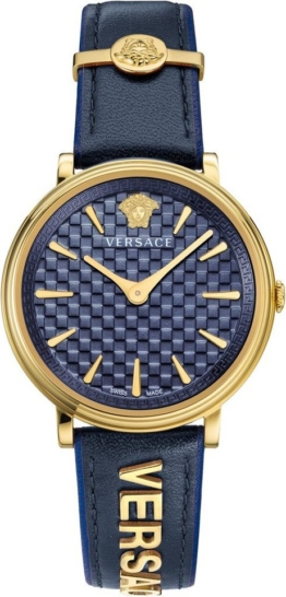 Versace Schweizer Uhr »V-CIRCLE/ LOGOMANIA EDITION, VE8101219«