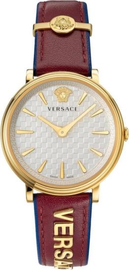 Versace Schweizer Uhr »V-CIRCLE/ LOGOMANIA EDITION, VE8101319«