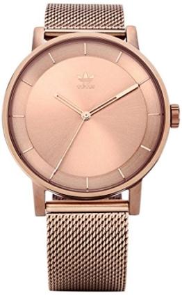 Adidas Damen Analog Quarz Uhr mit Edelstahl Armband Z04-897-00 - 1