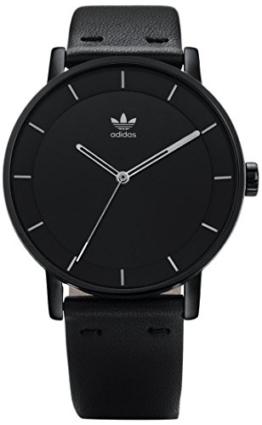 Adidas Damen Analog Quarz Uhr mit Leder Armband Z08-2345-00 - 1