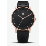 Adidas Damen Analog Quarz Uhr mit Leder Armband Z08-2918-00 - 1