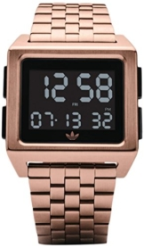 Adidas Damen Digital Uhr mit Edelstahl Armband Z01-1098-00 - 1