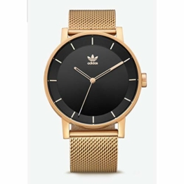Adidas Herren Analog Quarz Smart Watch Armbanduhr mit Edelstahl Armband Z04-1604-00 - 1