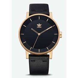 Adidas Herren Analog Quarz Smart Watch Armbanduhr mit Leder Armband Z08-1604-00 - 1