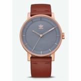 Adidas Herren Analog Quarz Smart Watch Armbanduhr mit Leder Armband Z08-2919-00 - 1