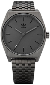 Adidas Herren Analog Quarz Uhr mit Edelstahl Armband Z02-680-00 - 1