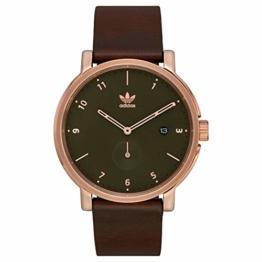adidas Watches Herren Uhren District LX2 goldfarben Einheitsgröße - 1