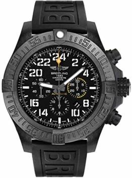 Breitling Avenger Hurricane Herren-Armbanduhr, 50 mm, schwarzes Gummiband, XB1210E4/BE89-154S - 1