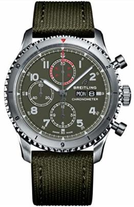 Breitling Aviator 8 Chronograph 43 Curtiss Warhawk Herren-Armbanduhr - 1