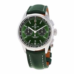 Breitling Bentley Premier B01 Chronograph Green Dial 42mm AB0118A11L1X1 - 1