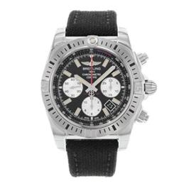Breitling Herren Chronomat 4444mm schwarz Leinwand Band Stahl Fall Automatische Analog Armbanduhr ab01154g-bd13ms - 1