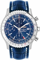 Breitling Navitimer Welt Blau Zifferblatt Herren-Armbanduhr A2432212/C651-746P - 1