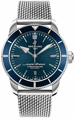 Breitling Superocean Heritage II B20 Automatik 44 Blau Zifferblatt Herrenuhr AB2030161C1A1 - 1