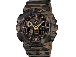 Casio HerrenMulti Zifferblatt Quarz mit Resin Armbanduhr GA 100CM 5AER - 1