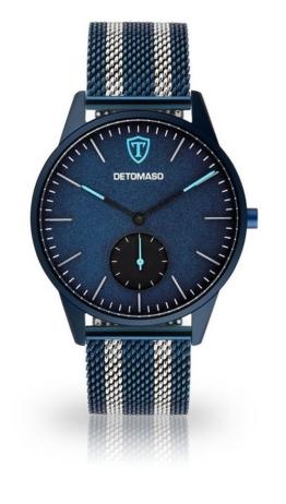 Detomaso Quarzuhr »LAMPIONE BLUE BLUE«