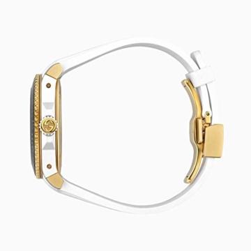 Gucci Uhr Dive cauuciu wei-gehuse pvd Gold-gelb YA136322 - 3